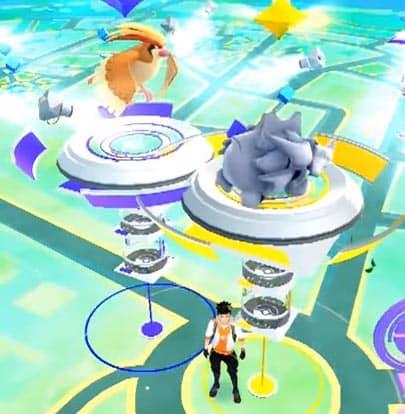 palestra pokemon