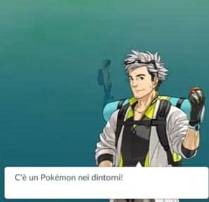 trovato pokemon nei dintorni