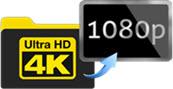 perchè ridimensionare video 4k 1080p