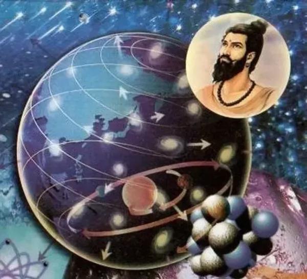 atomo scoperto antica india -