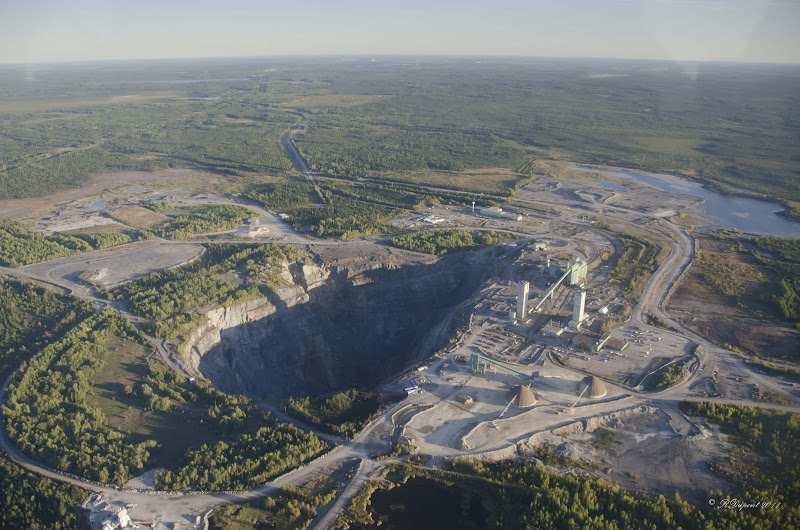 la miniera più profonda al mondo -