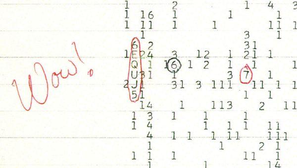 1977 segnale radio dallo spazio misterioso -
