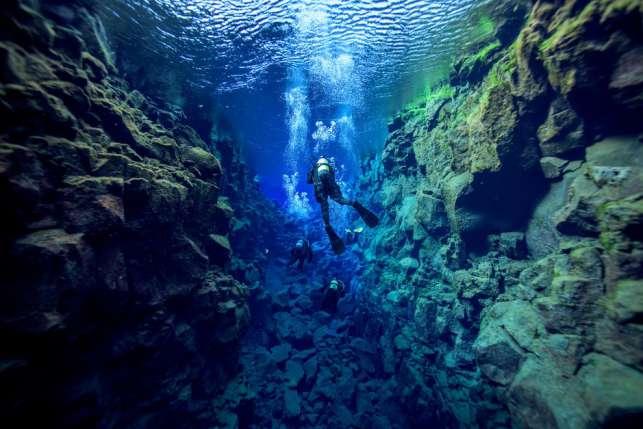 silfra fessure islanda -